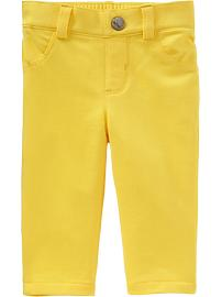 Pop-Color Jersey Pants for Baby - Anna Banana